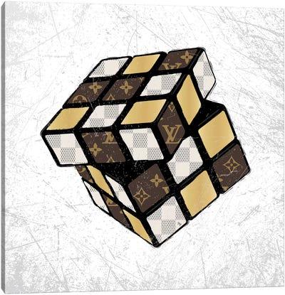 LV Cube Canvas Art Print