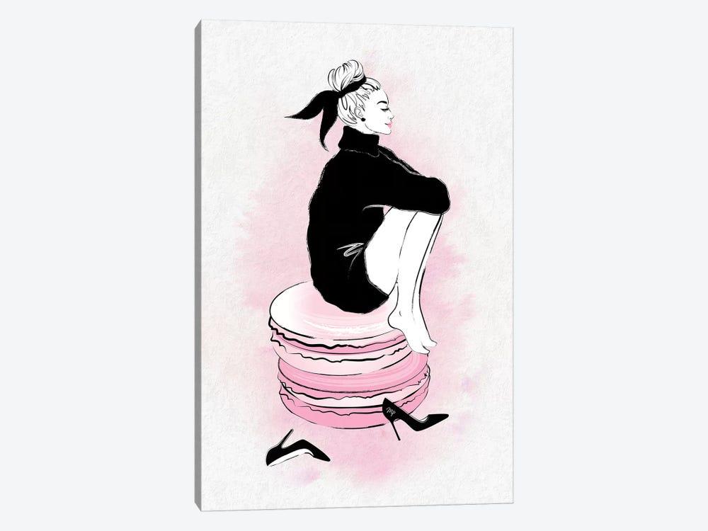 Macaron Girl by Martina Pavlova 1-piece Art Print