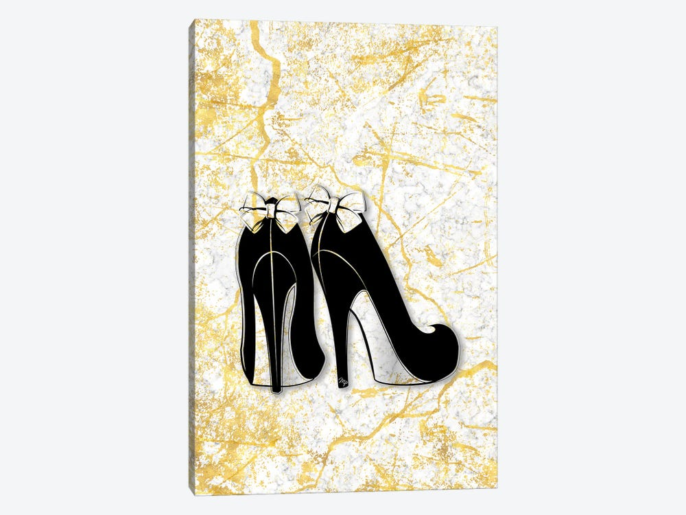 Marble Heels 1-piece Canvas Print