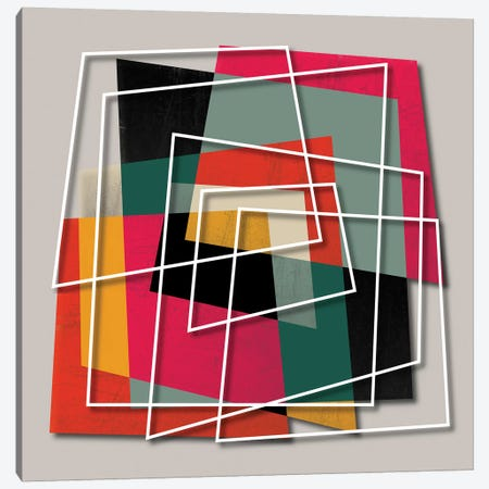 Fill & Stroke III Canvas Print #PAZ100} by Susana Paz Canvas Artwork