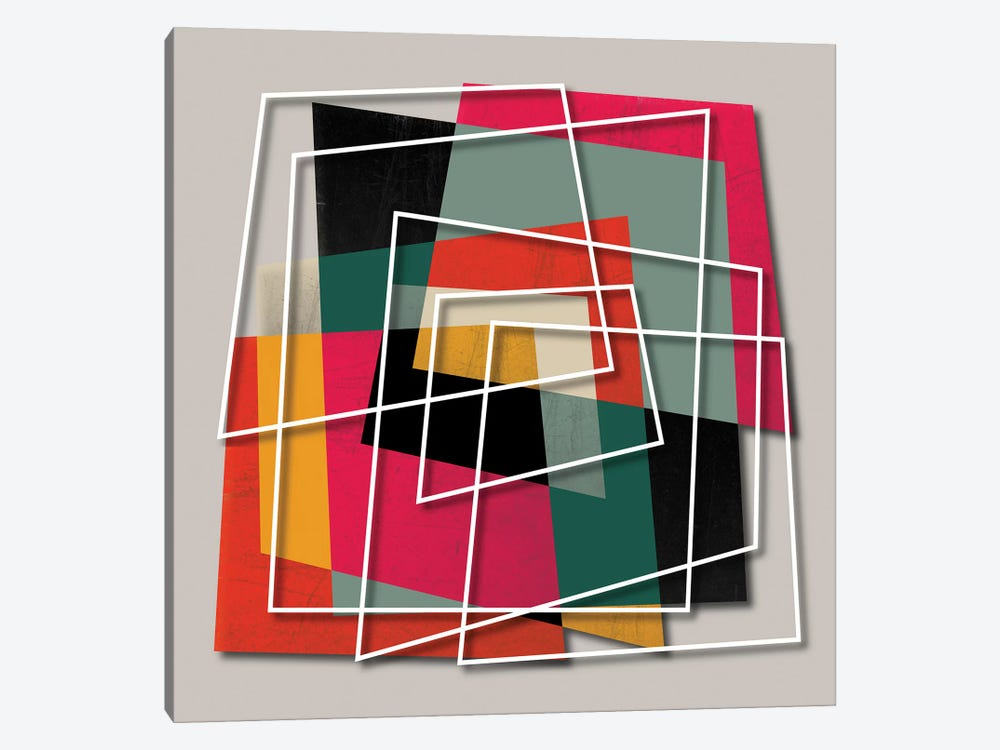 Fill & Stroke III by Susana Paz 1-piece Canvas Art