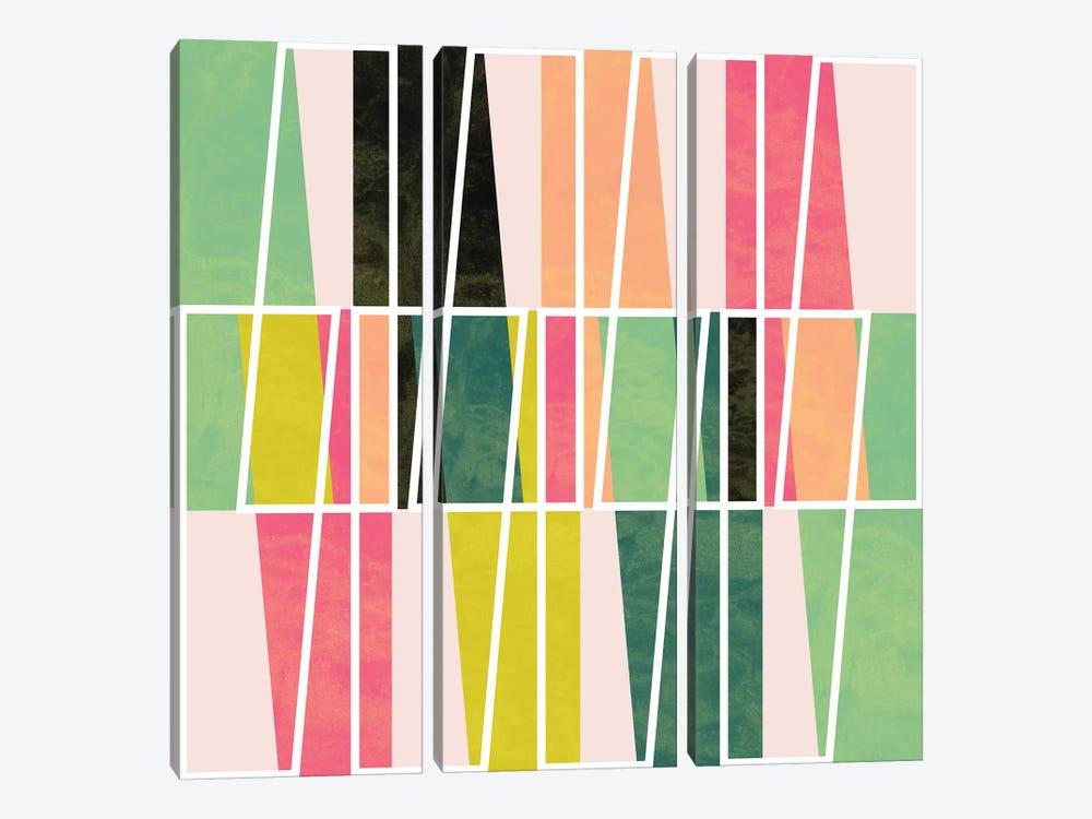 Fill & Stroke IV by Susana Paz 3-piece Canvas Print