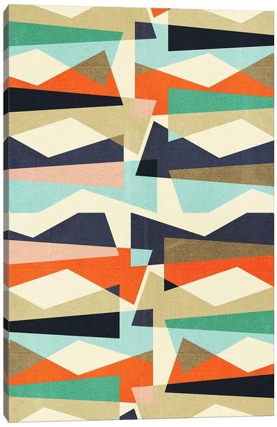 Fragments V Canvas Art Print