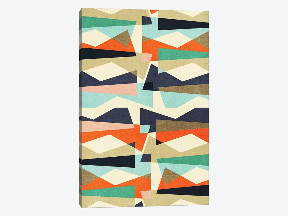 Fragments V by Susana Paz 1-piece Canvas Artwork