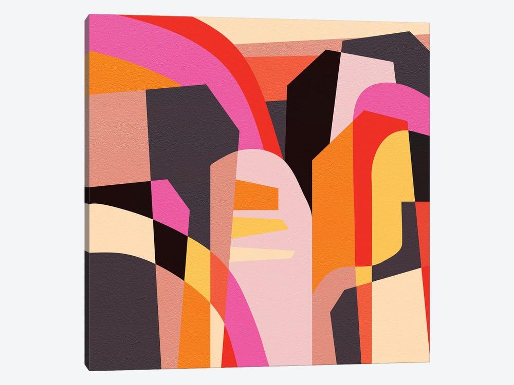 Fragments VI by Susana Paz 1-piece Canvas Print