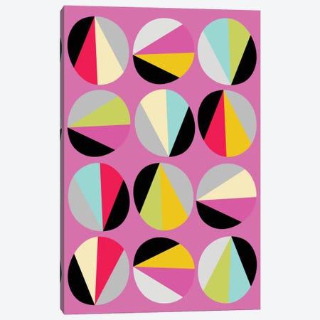 Circles Game III Canvas Print #PAZ10} by Susana Paz Art Print