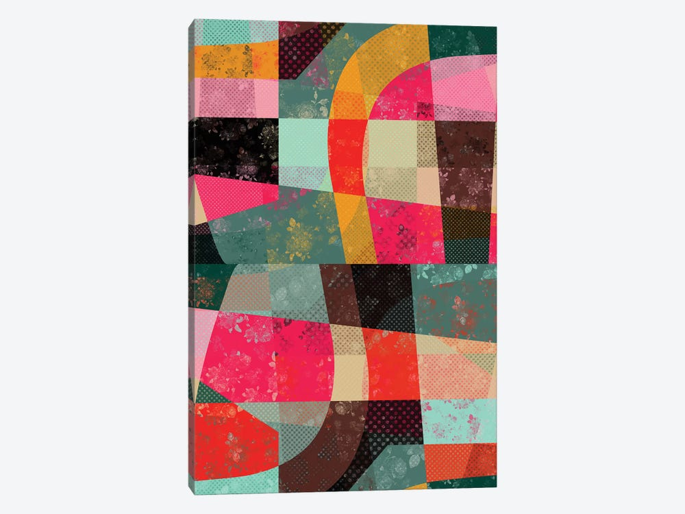 Fragments X by Susana Paz 1-piece Canvas Art