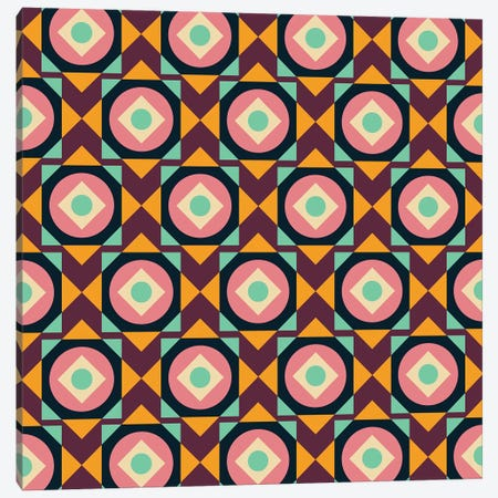 Geometric XXXI Canvas Print #PAZ113} by Susana Paz Art Print
