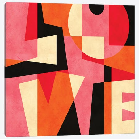 LOVE Canvas Print #PAZ115} by Susana Paz Canvas Artwork