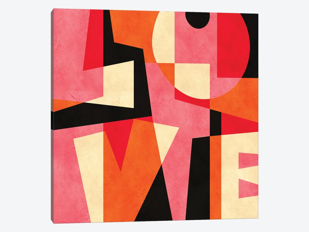 LOVE by Susana Paz 1-piece Canvas Artwork