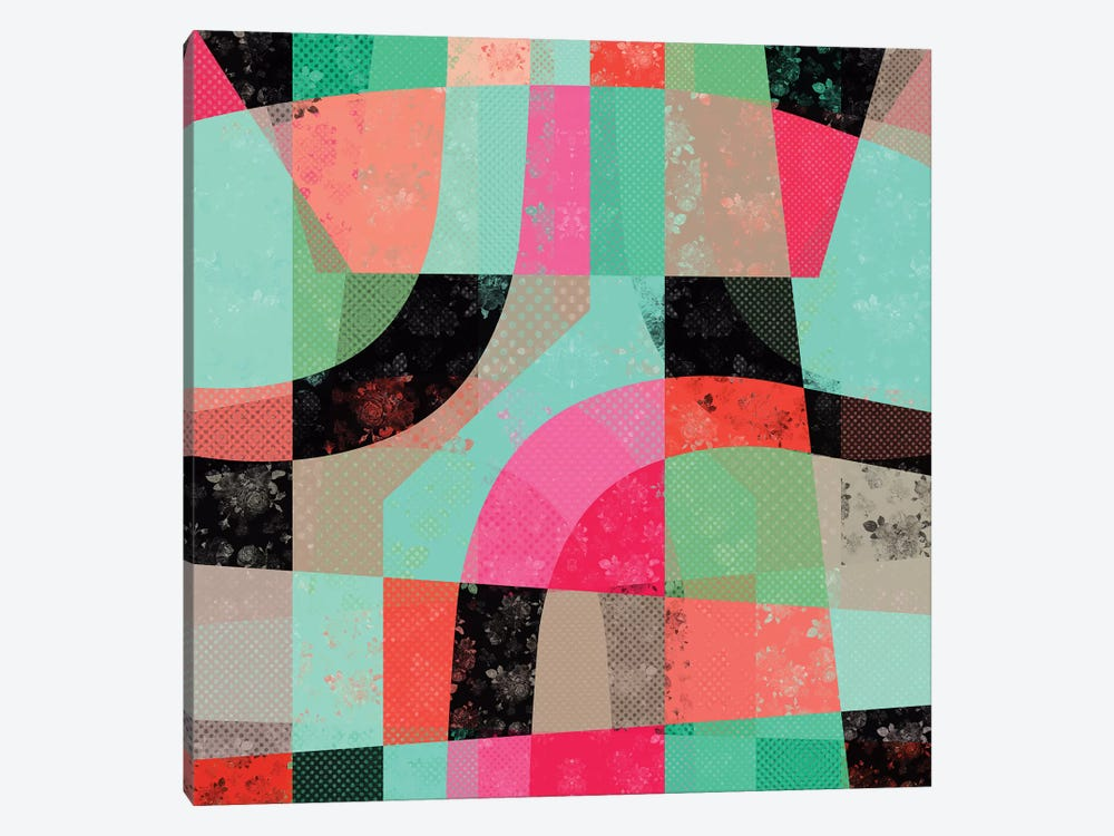 Patchwork by Susana Paz 1-piece Canvas Artwork