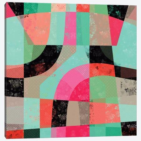 Patchwork 3-Piece Canvas #PAZ117} by Susana Paz Canvas Wall Art