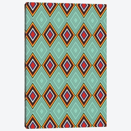 Tribal X Canvas Print #PAZ120} by Susana Paz Canvas Art
