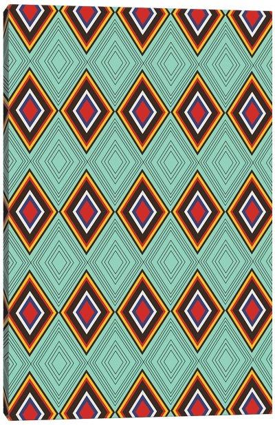 Tribal X Canvas Art Print