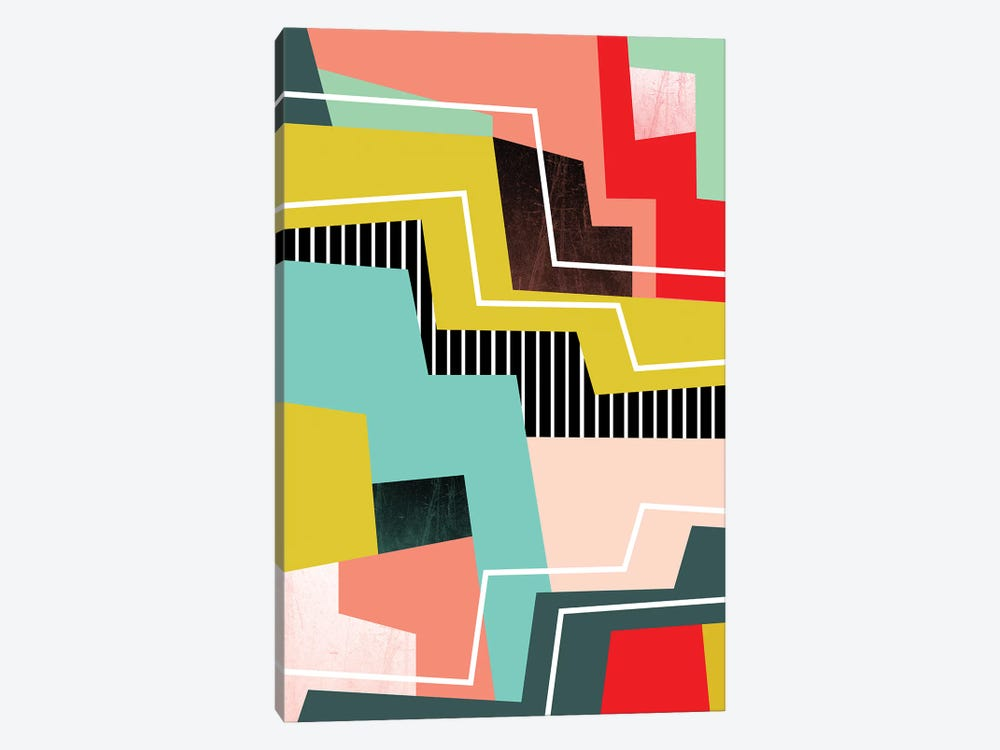 Color Block I by Susana Paz 1-piece Canvas Print