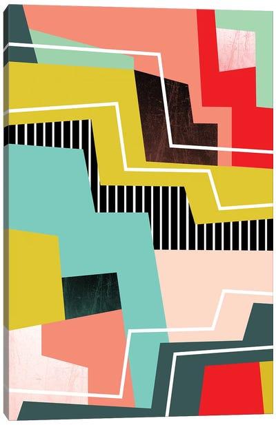 Color Block I Canvas Art Print