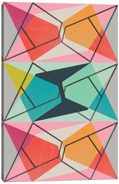 Color Block III Canvas Art Print
