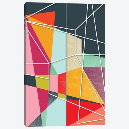 Color Block V Canvas Print #PAZ132} by Susana Paz Art Print