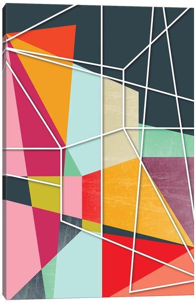 Color Block V Canvas Art Print