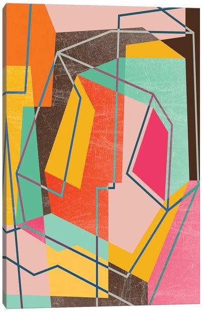 Color Block VIII Canvas Art Print