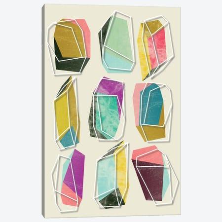 Colors And Crystals Canvas Print #PAZ139} by Susana Paz Art Print