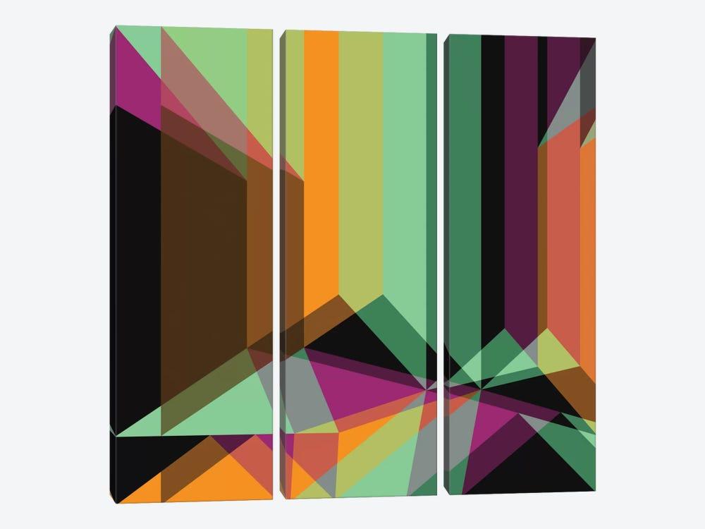 Composition III by Susana Paz 3-piece Art Print
