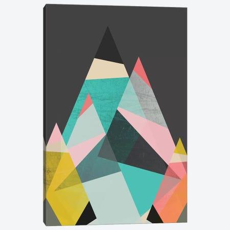 Geo Mountains Canvas Print #PAZ140} by Susana Paz Canvas Artwork