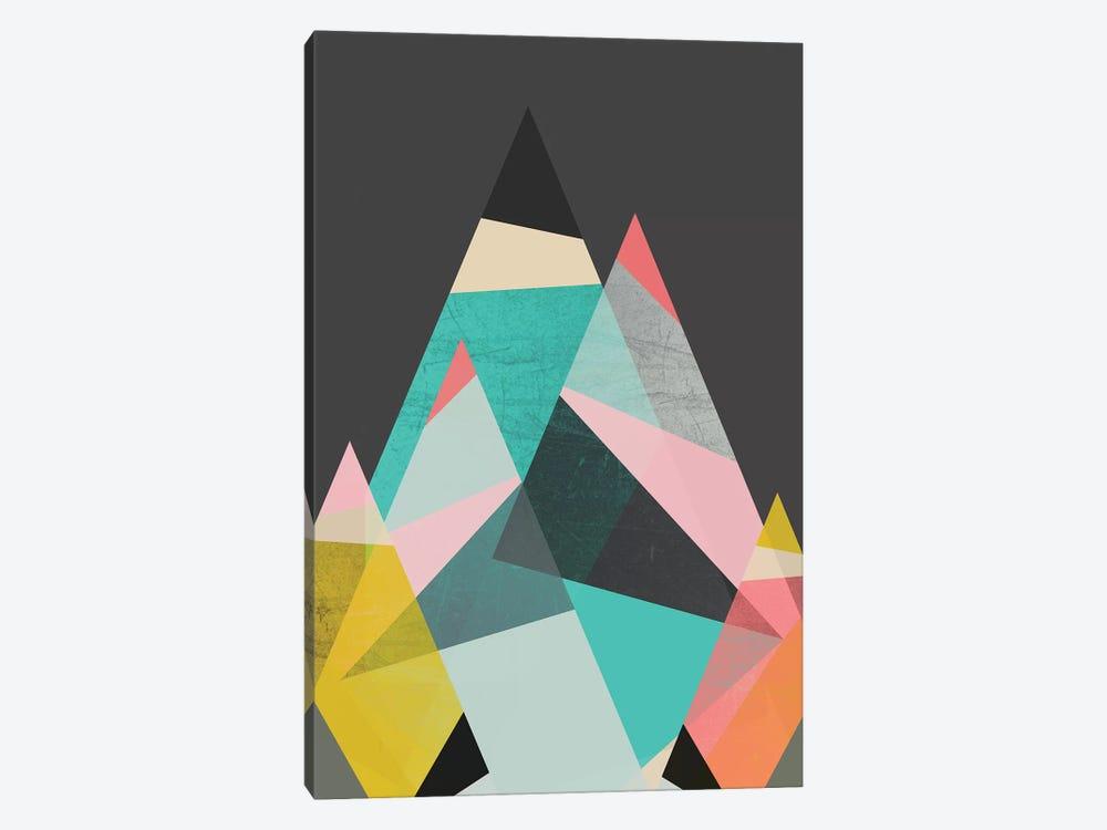 Geo Mountains by Susana Paz 1-piece Canvas Wall Art