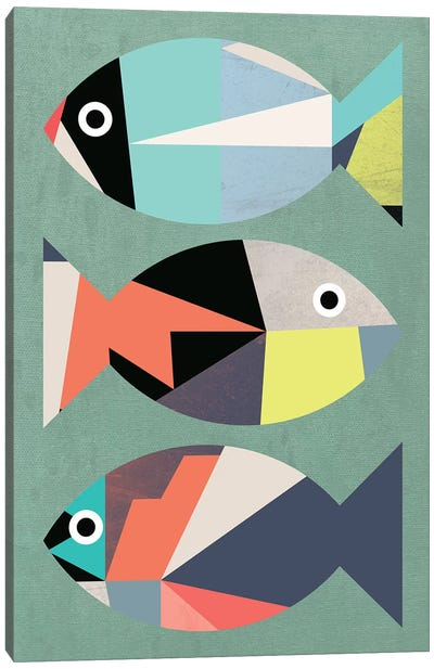 Little Fish Canvas Art Print