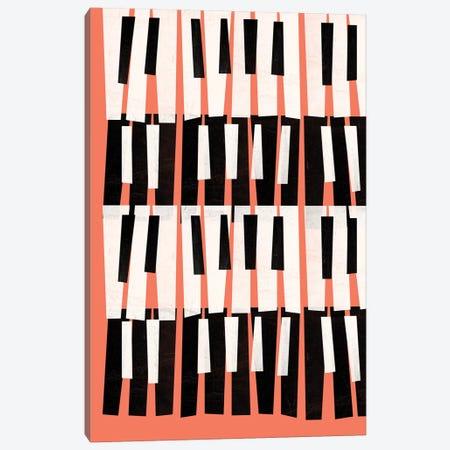 Piano Sounds Canvas Print #PAZ145} by Susana Paz Art Print