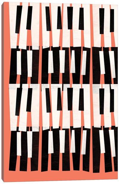 Piano Sounds Canvas Art Print