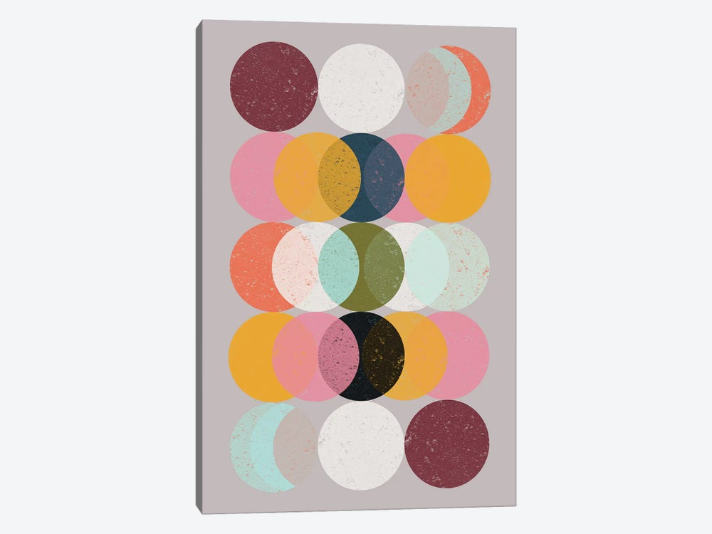 Moods & Moons by Susana Paz 1-piece Canvas Artwork
