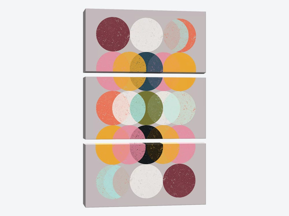 Moods & Moons by Susana Paz 3-piece Canvas Artwork
