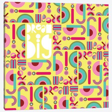 Dream Big 3-Piece Canvas #PAZ15} by Susana Paz Canvas Art