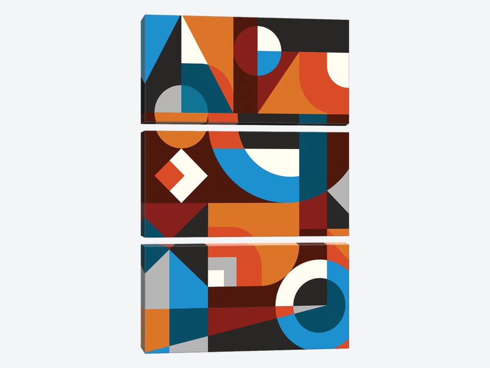 Intuitive II by Susana Paz 3-piece Canvas Print
