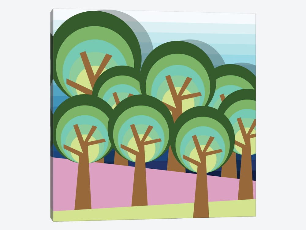 Forest by Susana Paz 1-piece Canvas Print