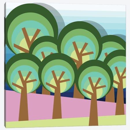 Forest Canvas Print #PAZ19} by Susana Paz Art Print