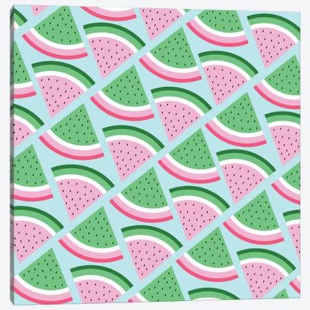 Fresh Watermelon Canvas Print #PAZ21} by Susana Paz Canvas Artwork