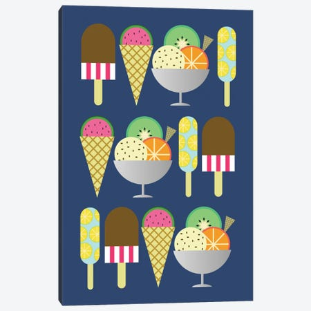 Gelato Canvas Print #PAZ22} by Susana Paz Canvas Art