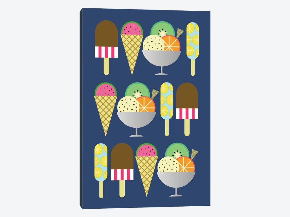 Gelato by Susana Paz 1-piece Canvas Art Print