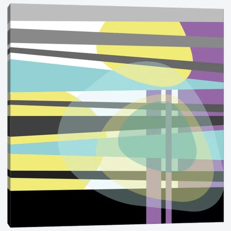 Geometric VI Canvas Print #PAZ25} by Susana Paz Canvas Print