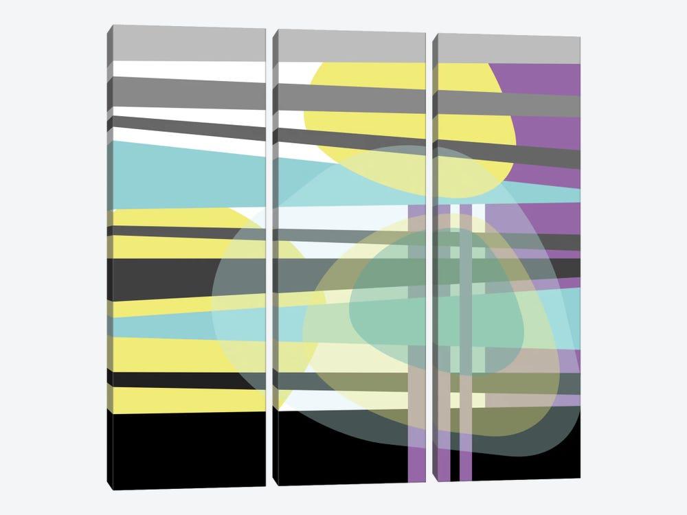 Geometric VI by Susana Paz 3-piece Canvas Artwork