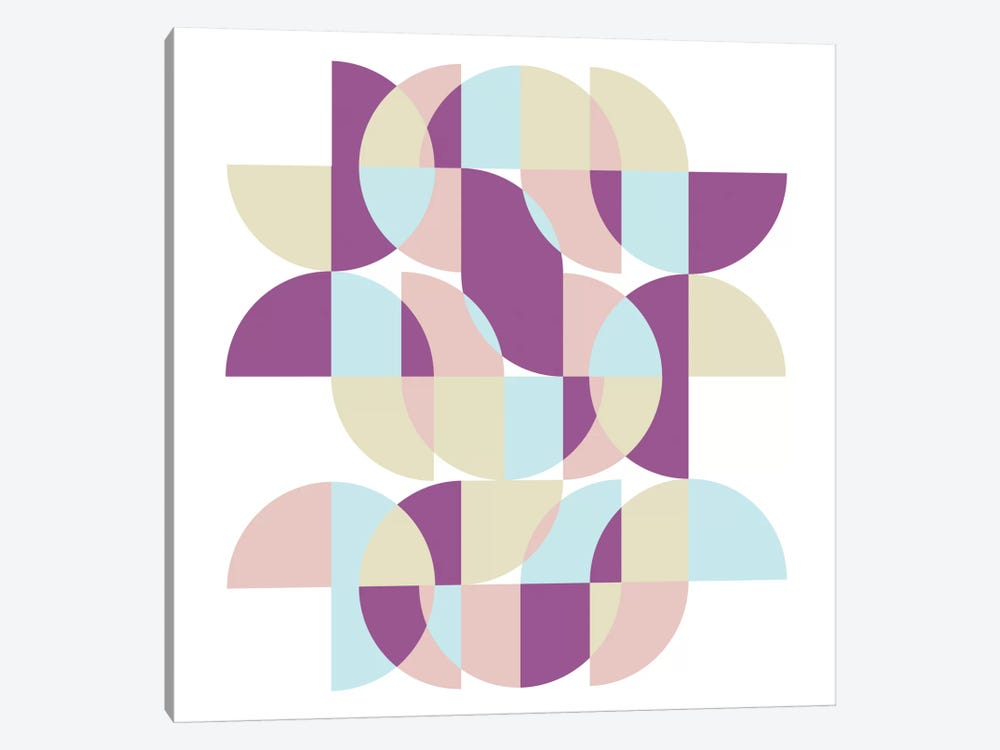 Geometric X by Susana Paz 1-piece Canvas Wall Art