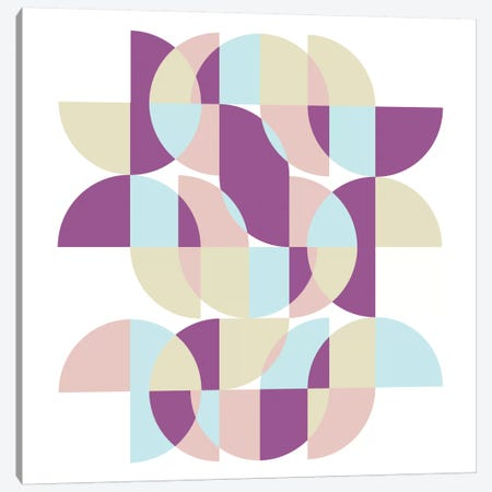 Geometric X Canvas Print #PAZ27} by Susana Paz Canvas Print