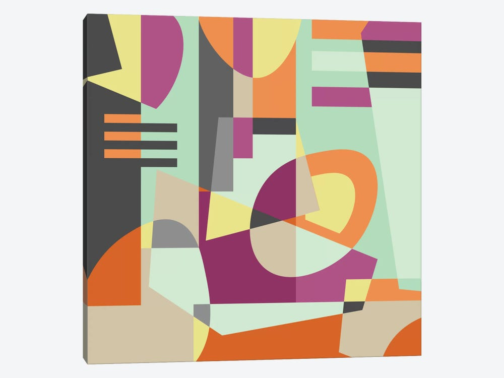 Geometric XI by Susana Paz 1-piece Canvas Print