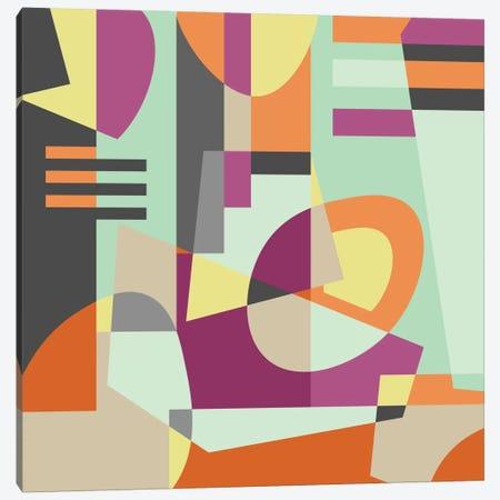 Geometric XI Canvas Print #PAZ28} by Susana Paz Canvas Wall Art