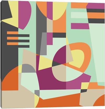 Geometric XI Canvas Art Print