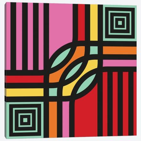 Geometric XII Canvas Print #PAZ29} by Susana Paz Canvas Art