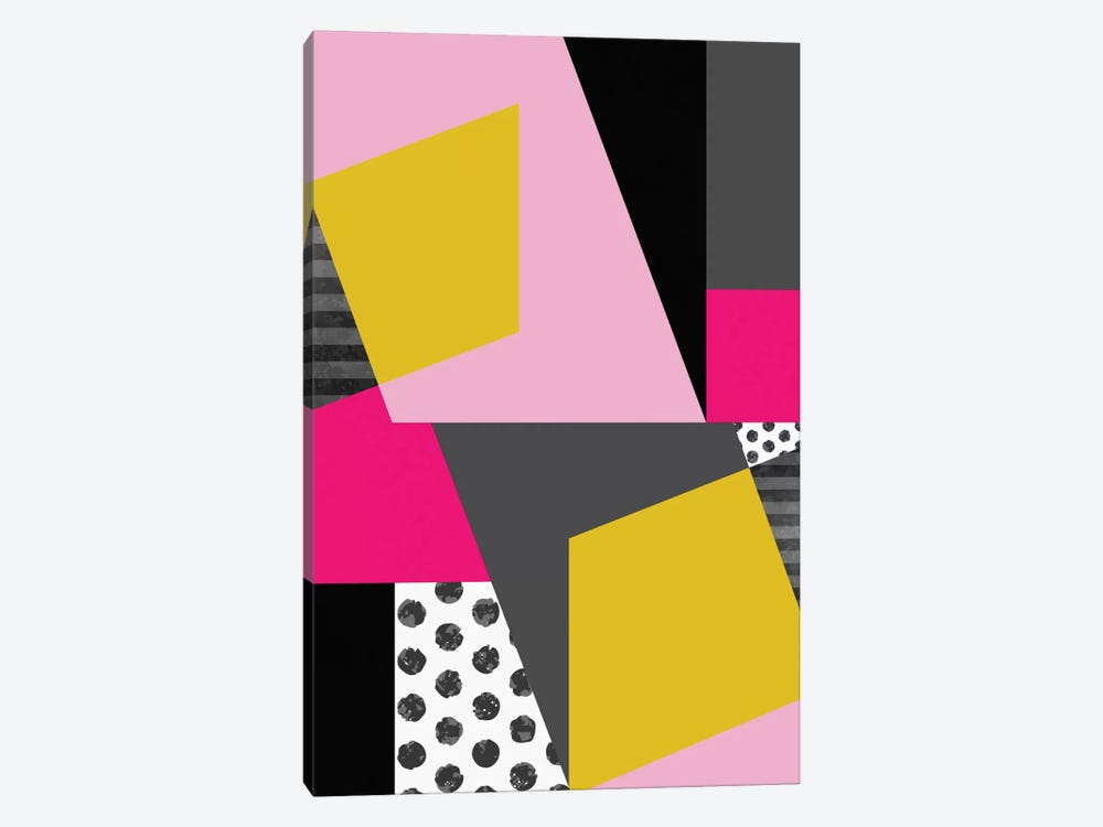 Geometric XIII by Susana Paz 1-piece Canvas Wall Art