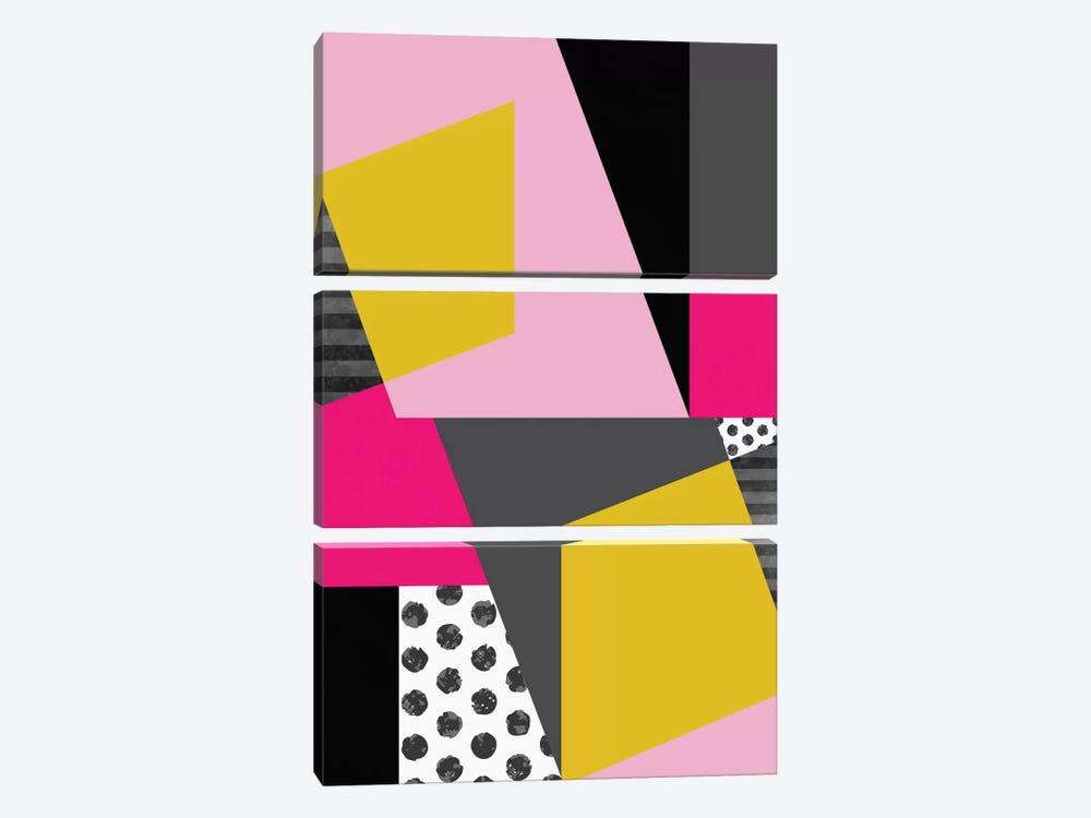 Geometric XIII by Susana Paz 3-piece Canvas Artwork